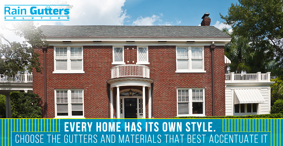 Gutters styles how to choose the right one for your home solutioingenieria Gallery
