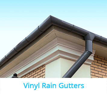 Choosing the right material for an impeccable rain gutter installation vinyl rain gutters are preferred by homeowners thanks to being inexpensive lightweight easy to install and the fact that they never rust do it yourself solutioingenieria Gallery