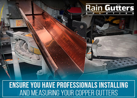 Rain Gutter Installation Measures