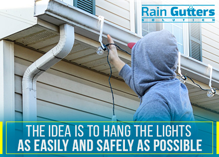 Tips For Hanging Christmas Lights On Your Gutters
