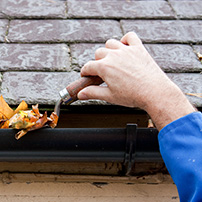 Rain Gutter Cleaning Must be Done By Professionals