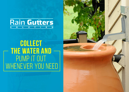 Rain Gutter Installation Collection System