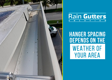 Gutter Placement and Hanger Spacing Installation