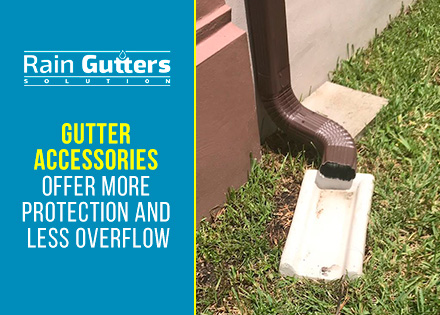 Gutter Accessories Splash Block
