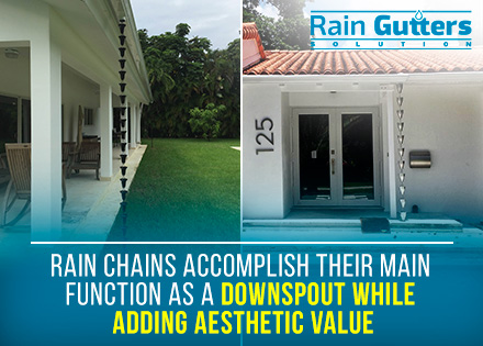 Gutter Accessories Rain Chain
