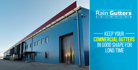 Rain Gutter Cleaning for Commercial Buildings