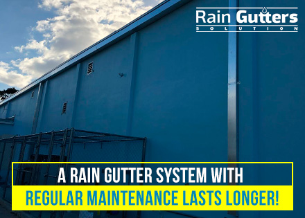 Commercial Rain Gutter Cleaning Impeccable Drainage System Installed