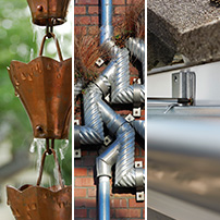 Gutter Accessories Rain Chain Downspout and Gutter Hanger