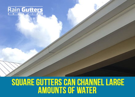 Square Gutters