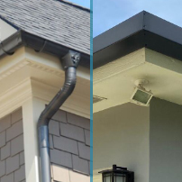Round and Square Guttering