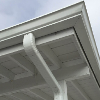 What Size of Rain Gutters