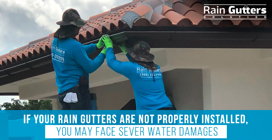 Rain Gutters Solution Repairing a Rain Gutter Installation That Gone Wrong
