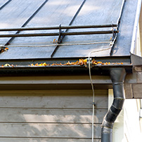 Rain Gutter System Needing to be Upgraded