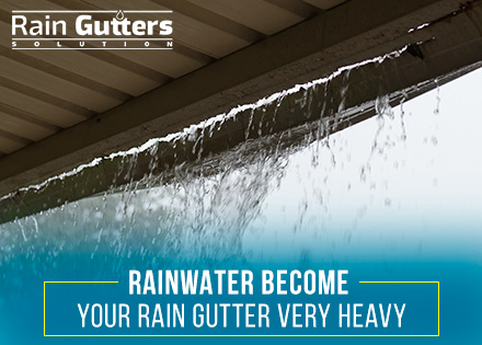 Rain Gutter Sagged Need a Rain Gutter Upgrade