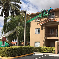 Performing Rain Gutter Installation to Residential Building