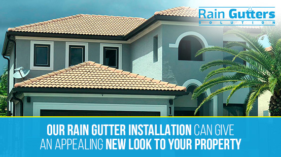 Rain gutter Installation Service in South Florida
