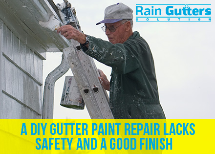 Rain Gutter Repair Service Old Man